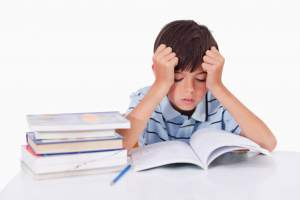 Kids Too Much Homework