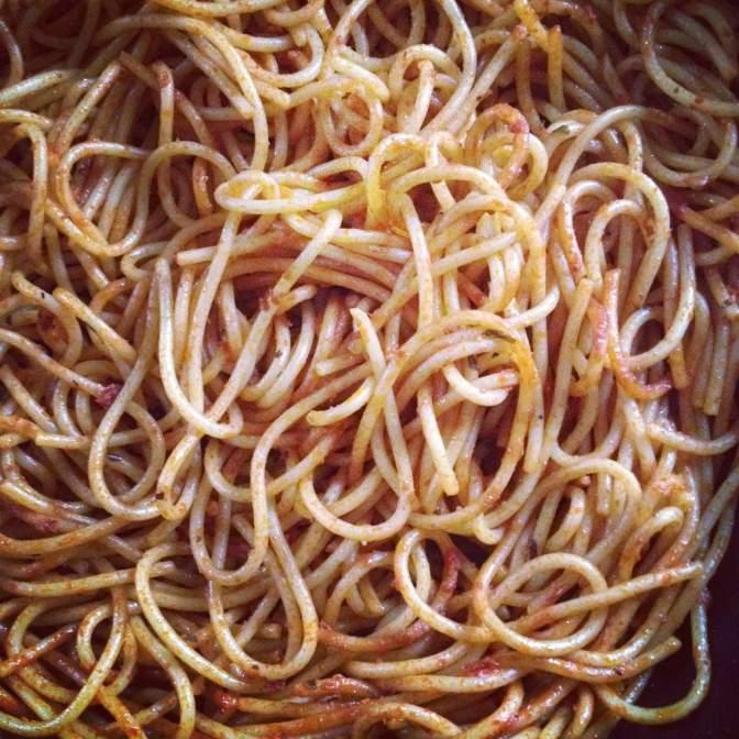 Spaghetti Turned to Spiceghetti