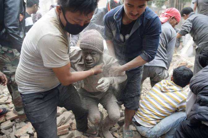 Nepal Earthquake 7.9