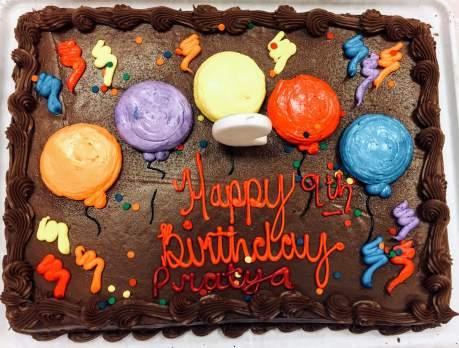 Prat9 Bday Cake